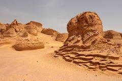 Σχηματισμοί πετρών άμμου Στοκ φωτογραφίες με δικαίωμα ελεύθερης χρήσης