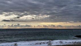 Σχηματισμοί σύννεφων Στοκ Φωτογραφίες