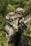 Σχηματισμοί ψαμμίτη Στοκ φωτογραφία με δικαίωμα ελεύθερης χρήσης