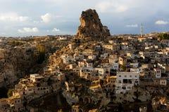 Σχηματισμοί Cappadocia και βράχου Στοκ Εικόνες
