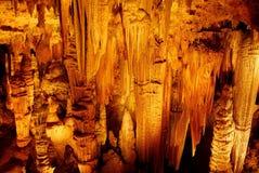 σχηματισμοί luray Βιρτζίνια σπη Στοκ φωτογραφία με δικαίωμα ελεύθερης χρήσης