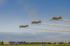 Σχηματισμός αεροσκαφών Στοκ Εικόνα