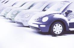 σχηματισμός αυτοκινήτων Στοκ Φωτογραφίες