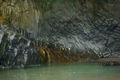 Σχηματισμός βράχου λάβας Στοκ Φωτογραφία