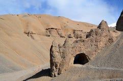 Σχηματισμός βράχου και άμμου Στοκ εικόνες με δικαίωμα ελεύθερης χρήσης