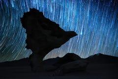 Σχηματισμός βράχου ονομασμένο Arbol de Piedra Στοκ Εικόνες