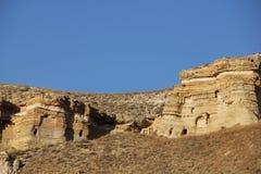 Σχηματισμός βράχου σε Cappadocia Στοκ Φωτογραφίες