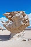 Σχηματισμός βράχου σε Uyuni, Βολιβία Στοκ εικόνα με δικαίωμα ελεύθερης χρήσης