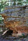 Σχηματισμός βράχου στη λίμνη φαραγγιών ξύλων, κομητεία Coconino, Αριζόνα, Ηνωμένες Πολιτείες στοκ φωτογραφίες με δικαίωμα ελεύθερης χρήσης