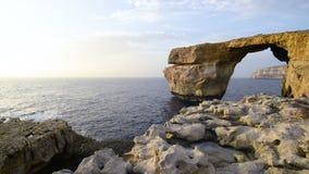 Σχηματισμός βράχου στη Μάλτα, Ευρώπη φιλμ μικρού μήκους