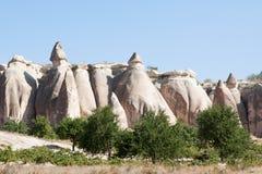 Σχηματισμός βράχου Göreme  Τουρκία Στοκ Φωτογραφίες