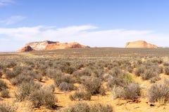 Σχηματισμός βράχου Righ στην Αριζόνα, ΗΠΑ Στοκ εικόνα με δικαίωμα ελεύθερης χρήσης