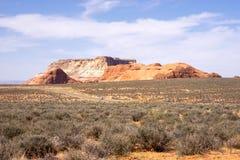 Σχηματισμός βράχου Righ στην Αριζόνα, ΗΠΑ Στοκ φωτογραφία με δικαίωμα ελεύθερης χρήσης