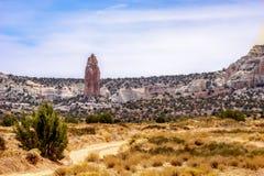 Σχηματισμός βράχου Righ στην Αριζόνα, ΗΠΑ Στοκ Εικόνα