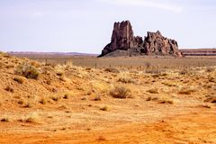 Σχηματισμός βράχου Righ στην Αριζόνα Στοκ εικόνες με δικαίωμα ελεύθερης χρήσης