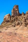 Σχηματισμός βράχου Teide Στοκ Φωτογραφία