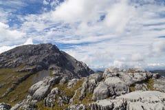 Σχηματισμός καρστ στο εθνικό πάρκο Kahurangi στοκ εικόνες