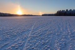 Σχηματισμός κρυστάλλου πάγου χιονιού στοκ εικόνα με δικαίωμα ελεύθερης χρήσης