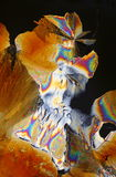 σχηματισμός κρυστάλλου στοκ εικόνες