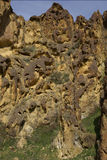 Σχηματισμός κυψελωτού βράχου Gulch της Leslie Στοκ εικόνα με δικαίωμα ελεύθερης χρήσης