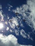 Σχηματισμός πτήσης Στοκ Φωτογραφία