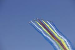 σχηματισμός πτήσης k8 Στοκ Εικόνες