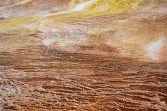 Σχηματισμός σε Yellowstone Στοκ Εικόνα