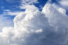 Σχηματισμός σύννεφων Στοκ Εικόνα