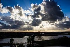 Σχηματισμός σύννεφων Στοκ εικόνα με δικαίωμα ελεύθερης χρήσης