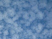 σχηματισμός σύννεφων Στοκ εικόνες με δικαίωμα ελεύθερης χρήσης