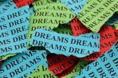 Σχισμένα όνειρα Στοκ φωτογραφία με δικαίωμα ελεύθερης χρήσης
