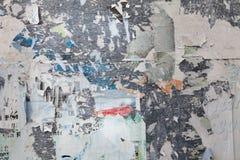Σχισμένη Grunge αφίσα στοκ φωτογραφία με δικαίωμα ελεύθερης χρήσης