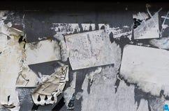 σχισμένος έγγραφο τοίχος στοκ εικόνα