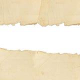 σχισμένος έγγραφο τρύγος στοκ φωτογραφία