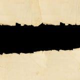σχισμένος έγγραφο τρύγος στοκ εικόνες με δικαίωμα ελεύθερης χρήσης