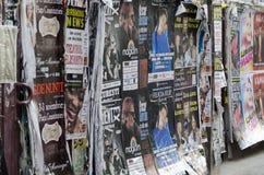 Σχισμένος παρουσιάστε πίνακες διαφημίσεων Στοκ φωτογραφία με δικαίωμα ελεύθερης χρήσης
