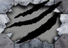 Σχισμένος σύσταση ξεπερασμένος πλέγμα σίδηρος μετάλλων ως υπόβαθρο Στοκ φωτογραφίες με δικαίωμα ελεύθερης χρήσης