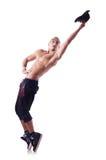 Σχισμένος χορευτής στοκ εικόνες με δικαίωμα ελεύθερης χρήσης
