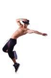 Σχισμένος χορευτής στοκ φωτογραφία με δικαίωμα ελεύθερης χρήσης