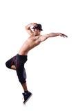 Σχισμένος χορευτής στοκ φωτογραφίες