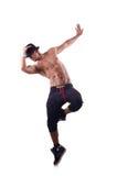 Σχισμένος χορευτής στοκ φωτογραφίες με δικαίωμα ελεύθερης χρήσης