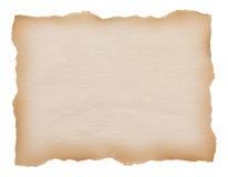 Σχισμένο εκλεκτής ποιότητας έγγραφο ακρών Στοκ εικόνες με δικαίωμα ελεύθερης χρήσης