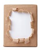 σχισμένο κιβώτιο τύλιγμα στοκ φωτογραφία με δικαίωμα ελεύθερης χρήσης