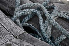 Σχοινί βαρκών Στοκ φωτογραφίες με δικαίωμα ελεύθερης χρήσης