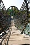 σχοινί γεφυρών Στοκ Εικόνες