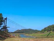 σχοινί γεφυρών Στοκ Φωτογραφίες