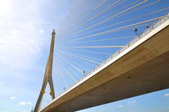 σχοινί γεφυρών Στοκ Φωτογραφία