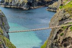 σχοινί γεφυρών carrick rede Στοκ εικόνες με δικαίωμα ελεύθερης χρήσης