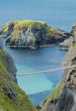 σχοινί γεφυρών carrick rede Στοκ φωτογραφία με δικαίωμα ελεύθερης χρήσης