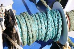 σχοινί για το σκάφος στοκ εικόνες